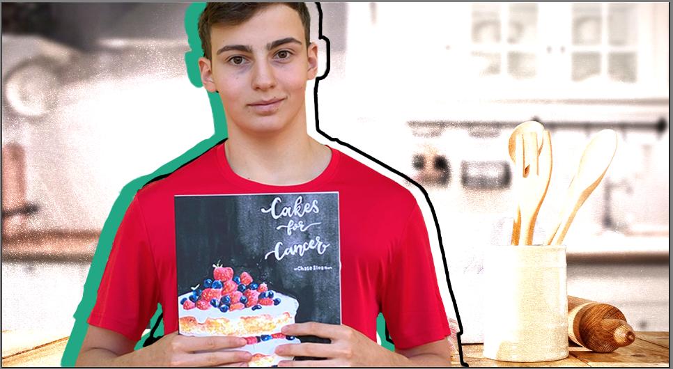 "Chase Sloan: Meet the Gen-Z Entrepreneur & Philanthropist Behind the ""Cakes for Cancer"" Cookbook"