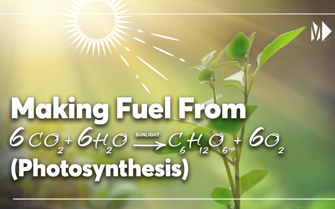 Making sustainable fuel out of sunlight and CO2